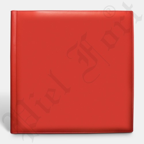 Deluxe Classic Album Cuir Rouge Taille 30x30