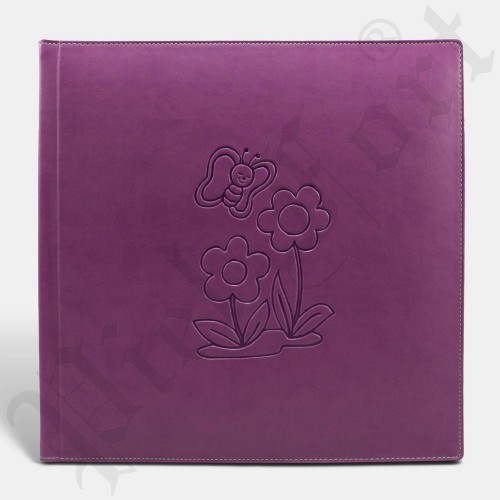 Photo Album Modèle INF-15 Taille 30X30 New Violet