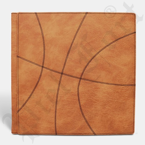 Photo Album Modèle Basket Taille 30X30 Sarano Orange