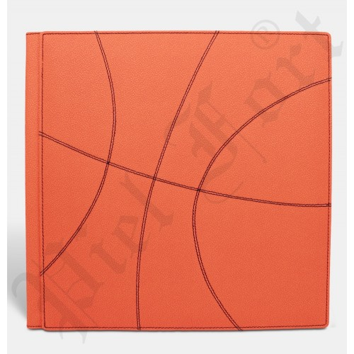 Photo Album Modèle Basket Taille 30X30 Pampas Orange
