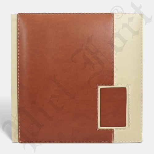 Photo Album Modèle 142 Taille 30X30 New Tabac-New Beige