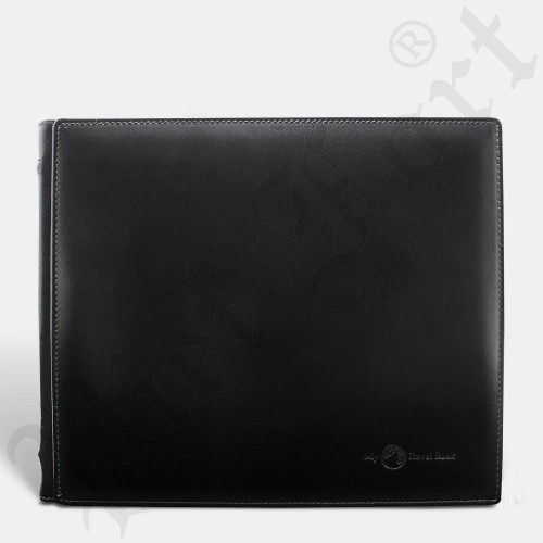Travel Book Cuir Noir