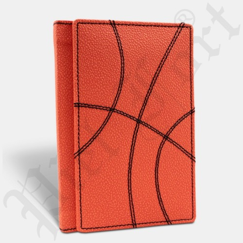 Carnet De Basket-Ball Modèle Orange